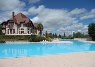 chateau zwembad